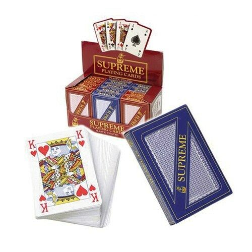 1 pack only suppled Peterkin Brand New Supreme Playing Cards