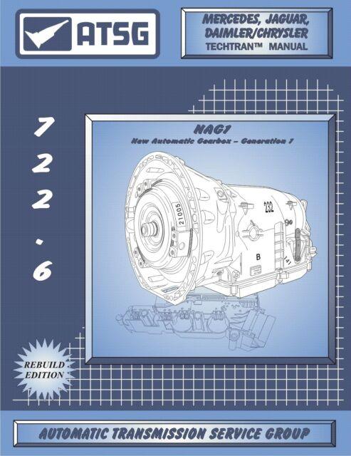 1996-2016 Jaguar Mercedes Daimler//Chrysler Transmission Repair Manual