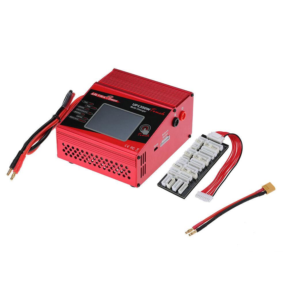 Ultra UP1350W Touch 40A Cargador de batería Power descargador Lipo Nimh Nicd DC lihv