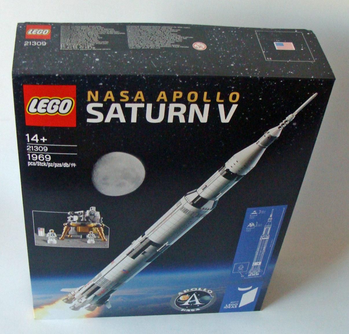 Lego® Ideas 21309 - Nasa Apollo Saturn V 1969 Teile 14+ - Neu