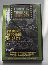 REPORTAGES DE GUERRE 1939 -1945 .. N°7 .. INVASION DE LA CRETE PAR LA LUFTWAFFE