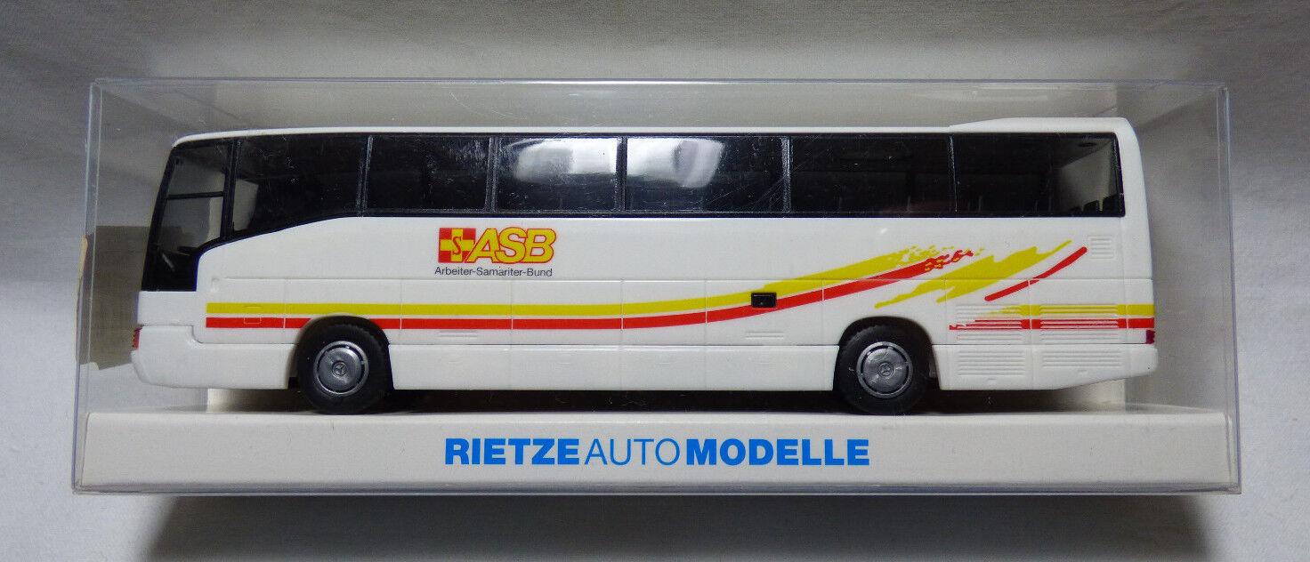 Rietze 1 87  H0  62064 Mercedes Benz O 404 RHD Reisebus ASB   OVP