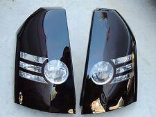 CUSTOM! 08-10 300 300C  OEM Smoked Tail Lights Black Tinted Painted non led