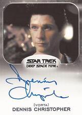 "Star Trek Aliens - Dennis Christopher ""Borath"" Auto/Autograph Card"