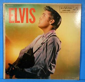 "ELVIS PRESLEY ""ELVIS"" LP 1956 MONO ORIGINAL PRESS AD BACK PLAYS GREAT! VGVG!!"