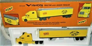 First-Gear-58-0154-Mack-Vision-Tractor-Kent-Feed-Auger-Trailer-1-54-Die-cast-LN