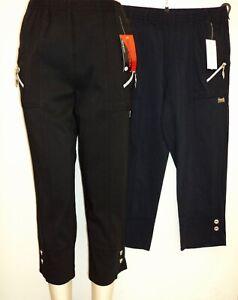 Aufrichtig Damen Stretch Schlupfhose Caprihosen 3/4 Hosen 7/8 Hosen Schluphosen 38 Bis 54 Um Jeden Preis Damenmode Kleidung & Accessoires