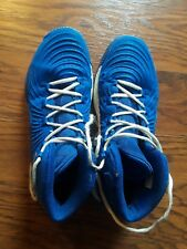 info for 13467 7f09b Adidas Mens Basketball Shoes, Size 10,Blue Color,Geofit