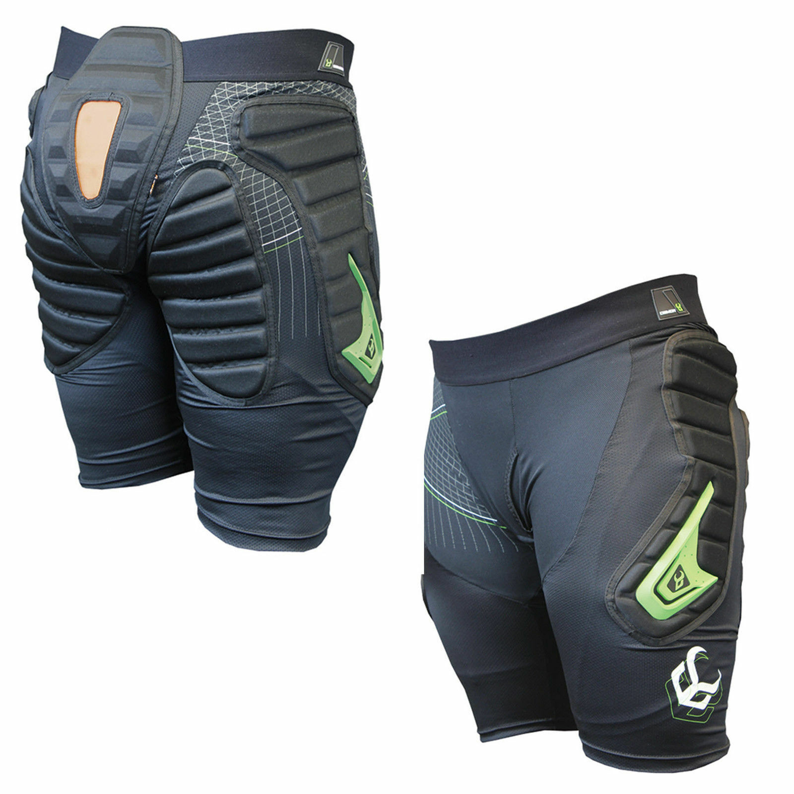 Demon Flex Force X D30 Impact Shorts, Snowboard, Skiing