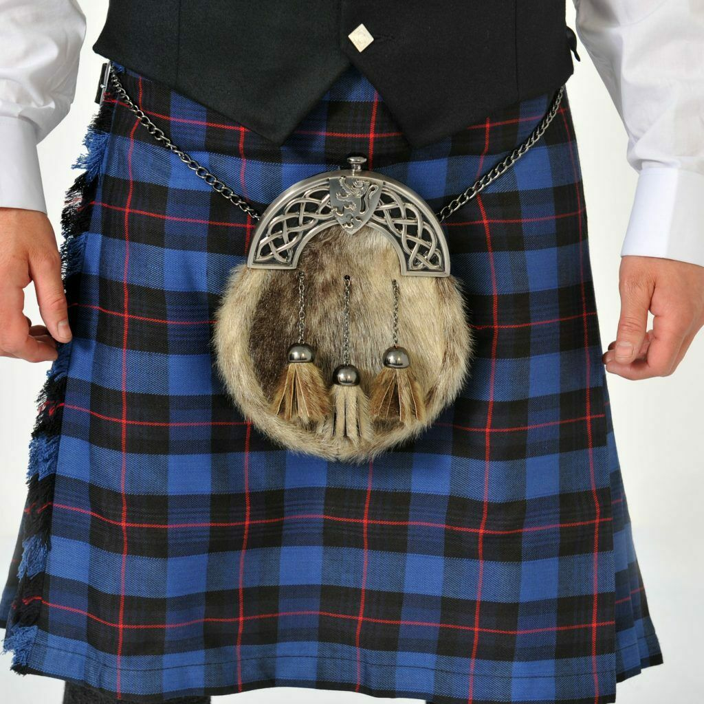 Rangers 8 Yard Wool Kilt Ex Hire 'B' condition Limited sizes and drops only