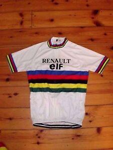 d255fae28 Brand New Team Renault ELF world Champion Cycling jersey Greg Lemond ...