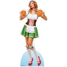 OKTOBERFEST BEER GIRL Lifesize CARDBOARD CUTOUT Standup Standee Poster Waitress