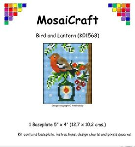 MosaiCraft-Pixel-Craft-Mosaic-Art-Kit-039-Bird-and-Lantern-039-Pixelhobby