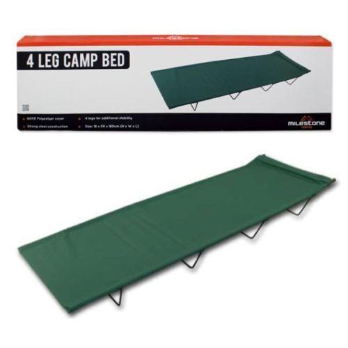 Festival Voyage Camping /& outdoor 4 pattes pliante de camping lit vert sacoche