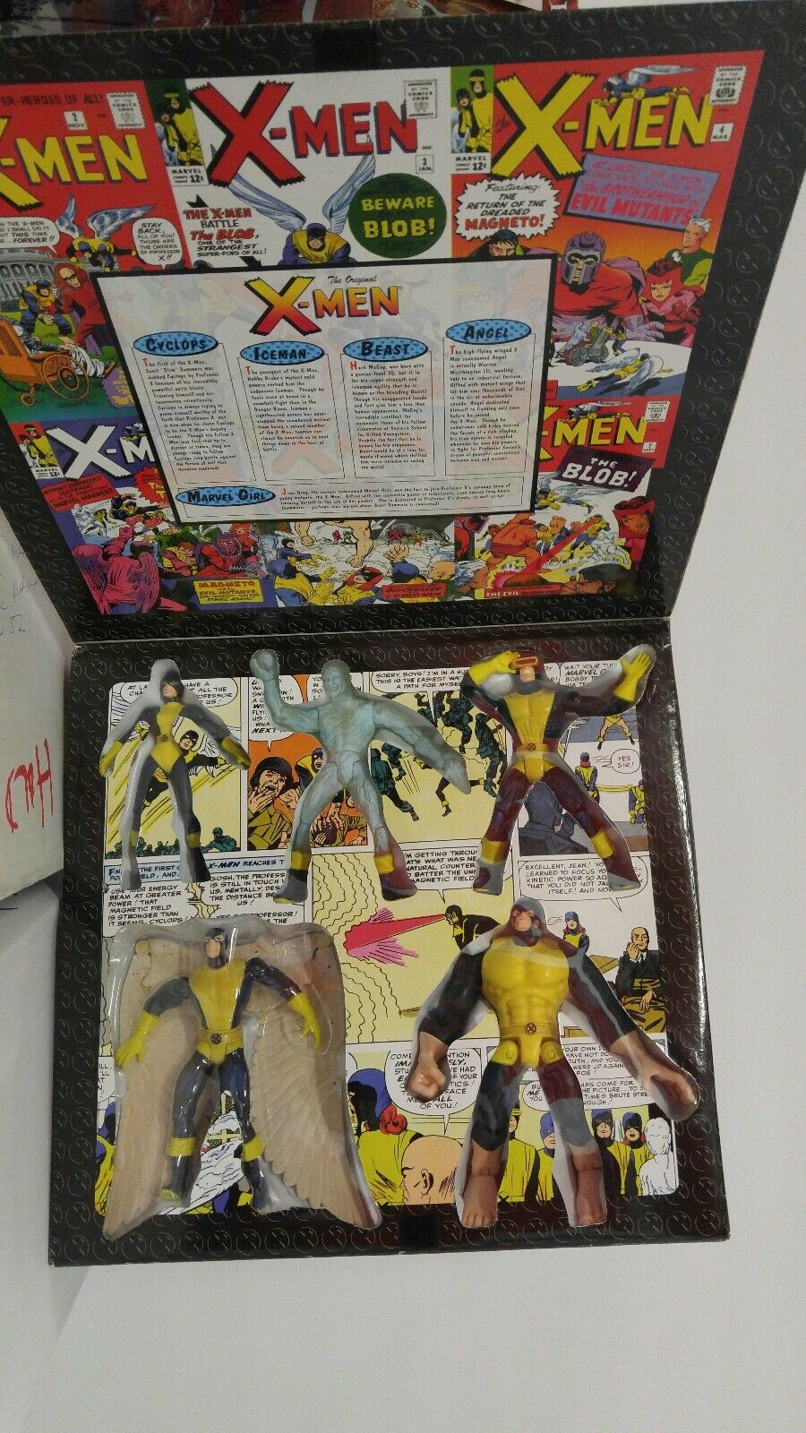 1997 The Original X-Men - Marvel Collectors Editions - ToyBiz - Marvel