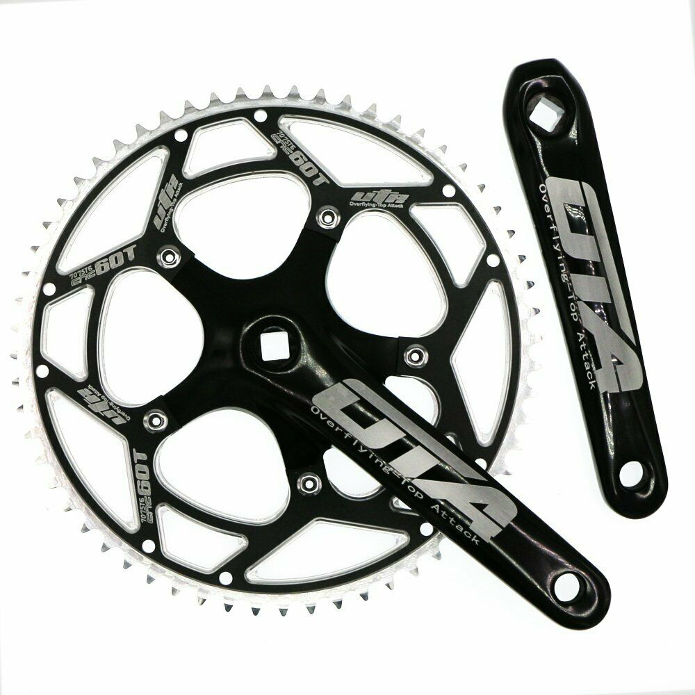 Einzel-Speed-Crankset 60T 170mm Crankarms 130 BCD CYSKY Fixie Crankset