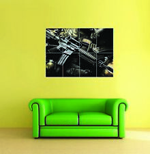 Night Sniper Pistol Grenade Giant Wall Art New Poster Print Picture