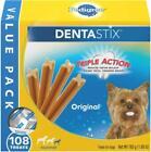 Pedigree 10144714 Dentastix Small Dog Chew Treats - 108 Count