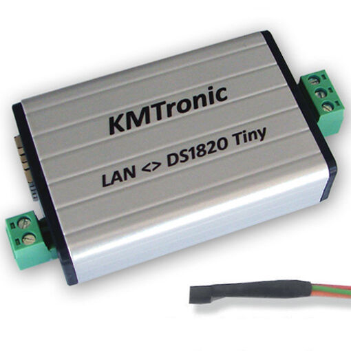 KMtronic LAN DS18B20 WEB 1-Wire Digital Temperatura Monitor