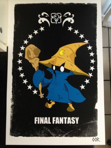 "Final Fantasy Black Mage 24/""x36/"" poster print"