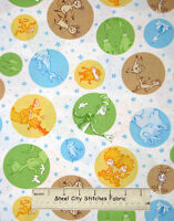 Dr Seuss Celebrate Cat Hat Adventure Character Robert Kaufman Cotton Fabric YARD