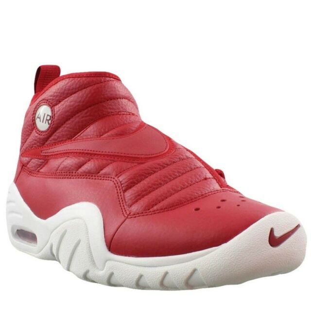 new arrivals 3b09e eee59 Nike Mens Athletic Sneakers Basketball Shoes Air Shake NDestrukt Leather Red  600