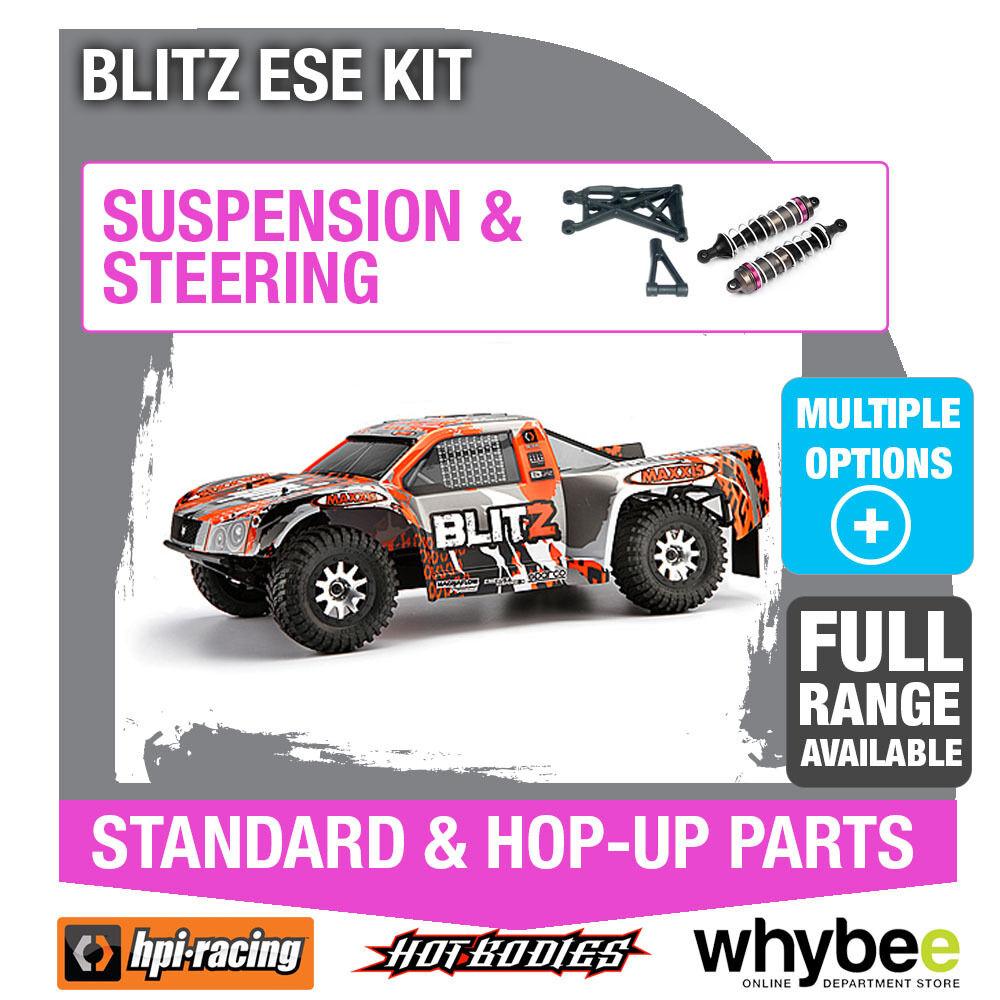HPI Blitz ESE attk - 10 [Sterzo & Sospensione] Genuine HPI RACING R/C Parts