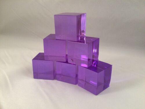 Dark Energon Purple Transformers Masterpiece Scale Energon Cubes