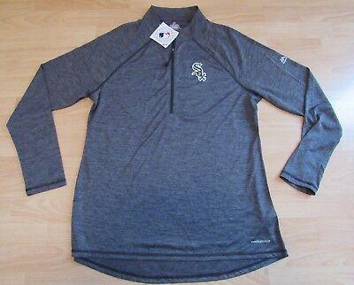 Fanartikel Willensstark Majestic Chicago Weißes Sox Coolbase Fan Mode 1/2 Zip Tech Jacke Damen 2xl GroßEs Sortiment
