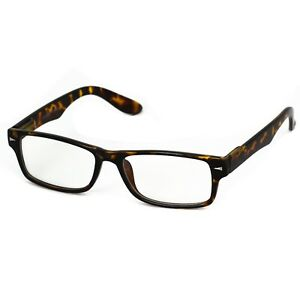 c5f37985450 Details about Rectangle Black Unisex Glasses Non-Rx Mens Womens Clear Lens  Nerd Geek Eyewear