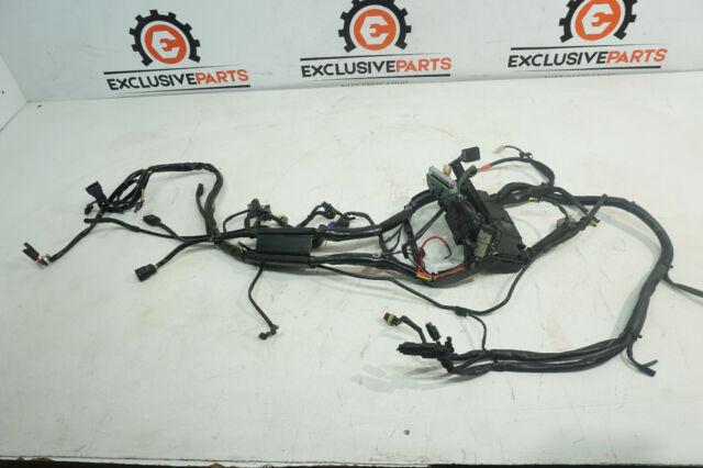 08 Harley Davidson Softail Custom Fxstc 105th Main Wiring Harness 70431
