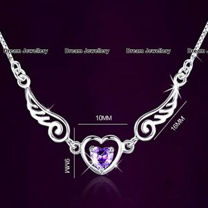 Angel Wings Purple Crystal Necklace Gifts for Her Women Girl CHRISTMAS SALE C1 - London, United Kingdom - Angel Wings Purple Crystal Necklace Gifts for Her Women Girl CHRISTMAS SALE C1 - London, United Kingdom