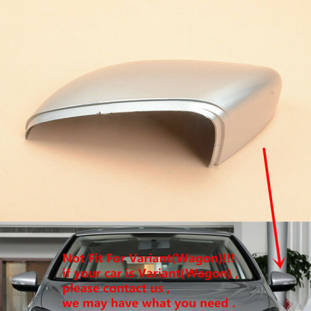Fit Vw Golf 6 Gti Mk6 Rearview Cap Wing Mirror Cover White Left Driver Side For Sale Online Ebay