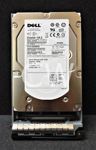 "Dell XX518 146GB 15000RPM 3.5/"" SAS Hard Drive Seagate ST3146356SS"