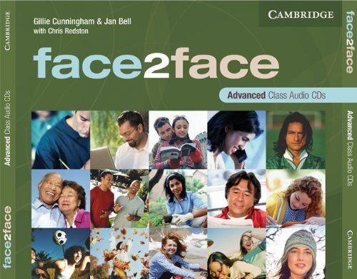 face2face Advanced Class Audio CDs (3), Bell, Jan, Cunningham, Gillie, New condi