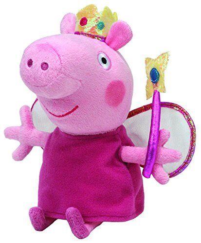 "Princess Peppa Pig 8/"" Beanie Babies Plush Doll NEW"
