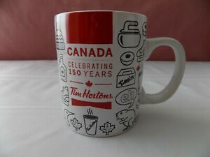 New-With-Tag, Tim Hortons 2017 Canada Celebrating 150 Years China Coffee Mug