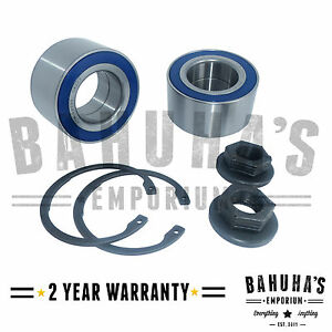X2-FRONT-WHEEL-BEARING-PAIR-FOR-A-FORD-FIESTA-MK5-1-25-2001-gt-ONWARDS-NEW