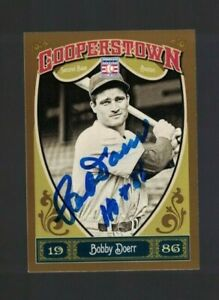 Bobby Doerr Boston Red Sox Signed 2013 Panini Baseball Card W/Our COA