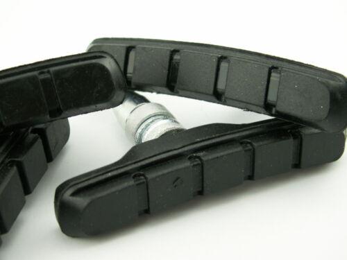 Promax Bremsbeläge 70 mm Bremsschuhe V-Brake 2 Paar vorne hinten für Shimano NEU