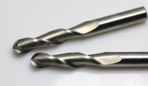 4mm DIA 22mm CEL Spiral Ball Nose 2 Flutes Solid Carbide Cutter CNC Tool Bull 3D