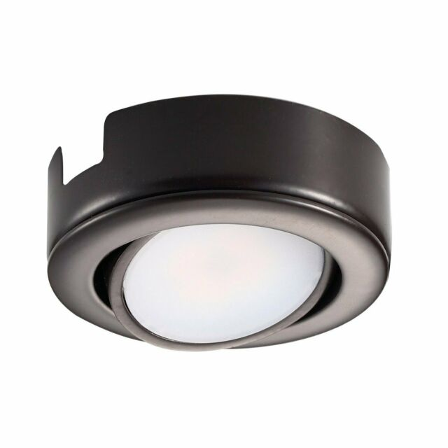 GetInLight Dimmable LED Puck Lights Kit Recessed or Surface Mount Design,...