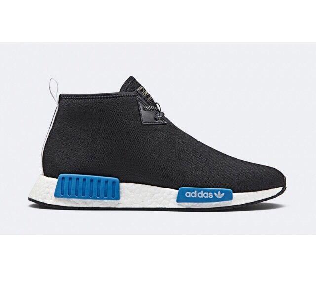 Adidas x porter japan nmd c1 - - c1 chukka auftrieb pk schwarz blau w / eingang größe 6 5ebc3b