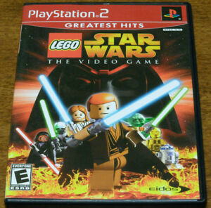LEGO Star Wars: The Video Game (Sony PlayStation 2) PS2 GAME DISC & CASE (GH)