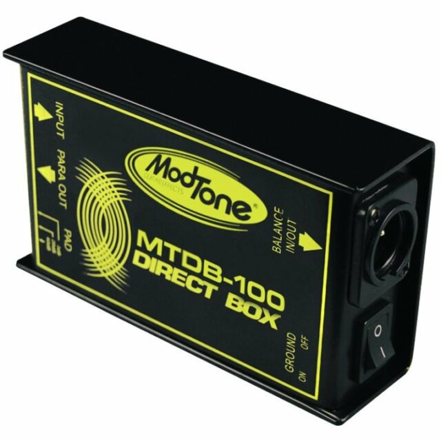 NEW ModTone MTDB-100 Direct Box PRO DI FREE SHIPPING Auth Dealer!!