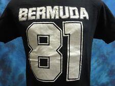 vintage 1981 BERMUDA T-Shirt SMALL/MED surf skate beach jersey super soft 80s