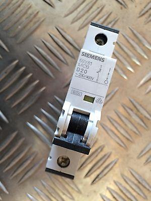 Siemens 5sy6120-8 Sicherungsautomat 5sy61 Mcb D20 Um Eine Reibungslose üBertragung Zu GewäHrleisten