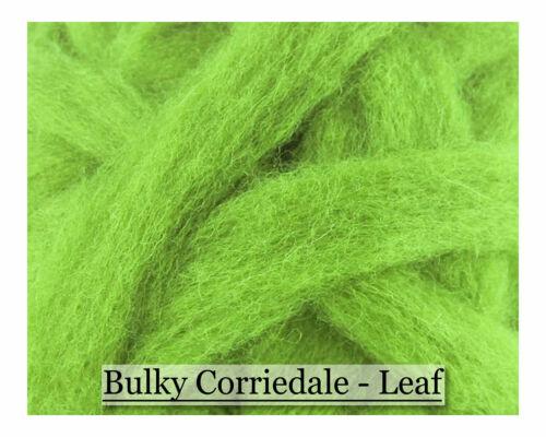 Corriedale Wool Sliver Leaf Corriedale Wool Roving