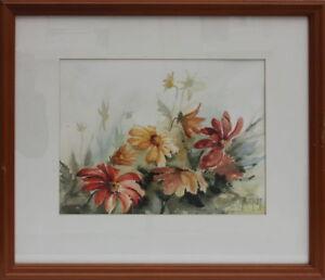 H-Wolcott-Blumen-Aquarell