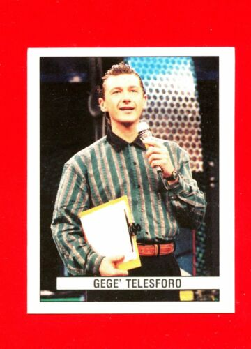 GEGE TELESFORO -New DISCOTECHE /'93 -Panini 1993- Figurina-Sticker 420 n